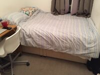 Double Divan Bed (BASE ONLY) with 2 drawers