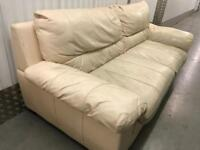 3 seater leather sofa with FREE DELIVERY