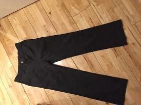 Boys grey school trousers age 11