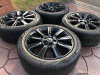 """Genuine 20"""" Range Rover Vogue Discovery Refurbished Alloy Wheels & Tyre VW T5 Stormer"""