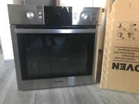 Samsung BQ1VD6T131 Dual Cook Single Electric Steam Oven, Stainless Steel
