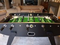 Football Table with LED lights and cover, telescopic rods - very sturdy