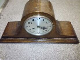 Old antique table grandfather clock for sale