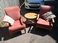 Pair of Parker Knoll Chairs 717
