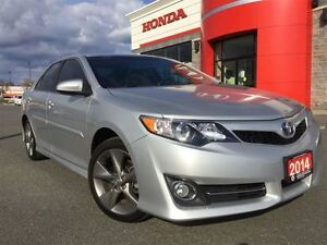 2014 Toyota Camry reliable with tint ... looks sharp