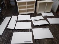 Cream colour kitchen doors and cupboards