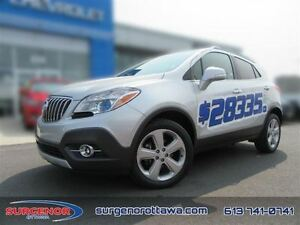 2015 Buick Encore AWD Leather  - Certified - $178.20 B/W