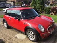 BMW Mini One selling with private plate, full leather new MOT and full service