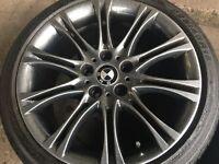 Newly refurbished 4x BMW MV2 Black Sparkle