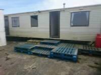 Static caravan 35x12 two bedroom to rent
