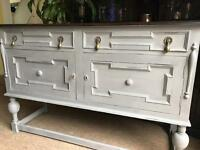 Refurbished Antique Solid Oak Sideboard/Dresser (Free Delivery)