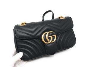 Gucci Mini/Small Marmont Leather ( More Styles Colors Brands Available)