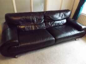 Black Leather Suite (4 seater and single seater)