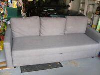 SOFA BED IKEA FRIHETEN 3 SEATER