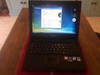 Samsung P200 laptop Intel 2ghz x 2 Core 2 duo processor fast 200gb hard drive