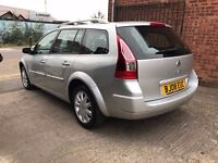 Renault Megane Estate 1.5 dCi Dynamique - 2008, Full Service History, MOT JULY 2017, 2 OWNERS, £1695