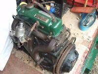 Wolseley 1500 engine