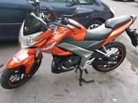 Kymco 125cc motorbike