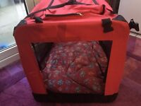 Dog Cage/Bed - Folds flat