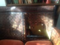 Vintage Moroccan sofa and chair