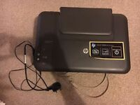 HP Deskjet All in One printer, scanner & copier with all accessories
