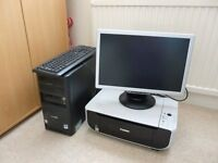 Desk Top PC & Printer