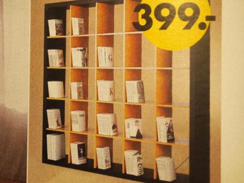 ikea expedit b cher regal raum teiler kal lax 5 x 5 schwarz braun in berlin kreuzberg regale. Black Bedroom Furniture Sets. Home Design Ideas