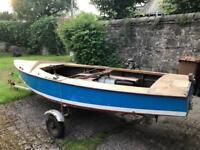GP14 sailing dingy