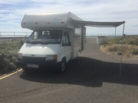 Ford transit coach-built motorhome