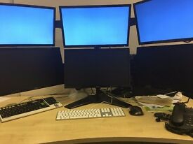 QUICK SALE - 6 MONITOR SETUP - TOP SPEC GAMING PC INCLUDED - ALMOST BRAND NEW