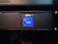 UPS: 1500VA Triplite Rackmount 2U UPS (battery backup power supply)