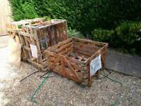 Pallet crates. Ideal for making compost heaps