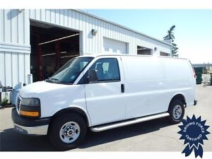 2015 GMC Savana Cargo Van, Heavy Duty Galvanized Running Boards
