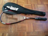 Squash Racquet - Prince - with case