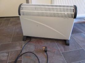 2kW Convector Heater with Thermostat+Timer