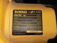 Dewalt DW703 chop saw good working order