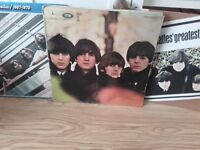 Beatles vinyls & various artists .