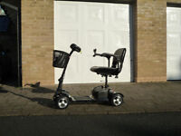 Unused Zeolite mobility scooter