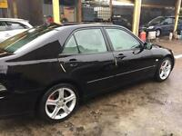 LEXUS IS 200 SE AUTO 2003 IN BLACK WITH MOT UNTIL 08/2017 DRIVES WELL