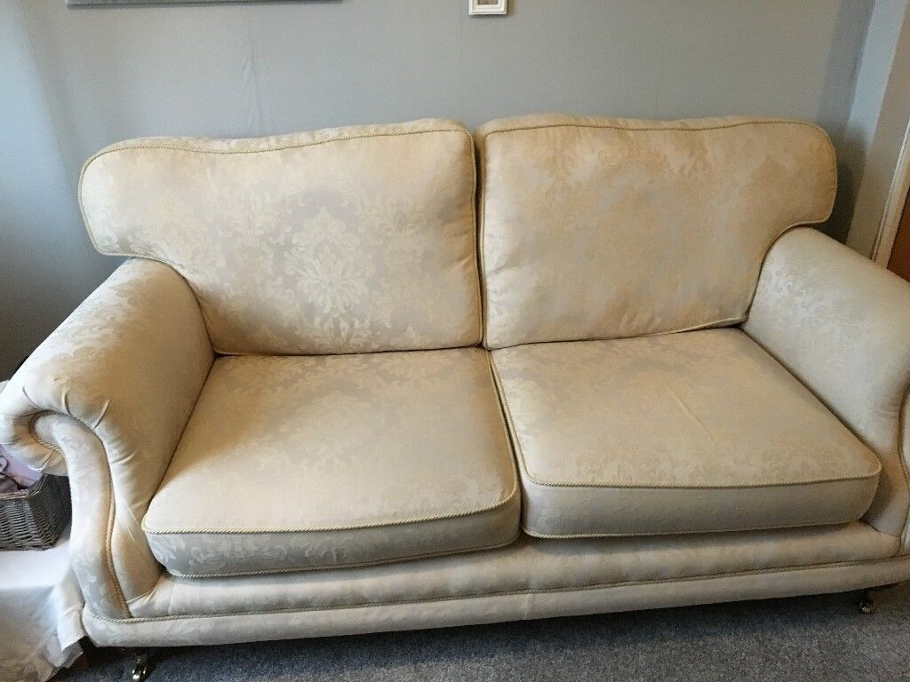 Cream Sofa And 2 Matching Chairs In Cheltenham
