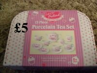 brand new lets pretend porcelain 13 piece tea set £5 no offers no offers collection from didcot