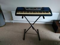 Yamaha electronic keyboard with stand and cover model PSR 262 excellent condition full working order