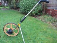 Distance Measuring wheel with stand support & carrying bag