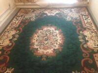 Extra Large Modern Persian Rug Size 310cm x 230cm. Quality Well Made Rug VGC