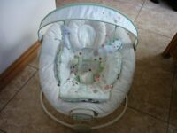 Baby Chair Comfort and Harmony with Music Vibrate and Toybar