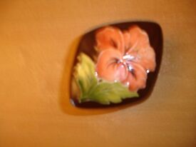 Moorcroft Diamond Shaped Trinket Box----Perfect!