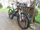 KHS XC 604 dual suspension mountain bike