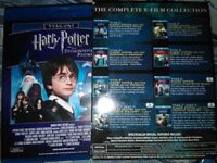 Harry Potter Complete blueray disc