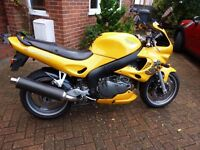 Triumph Sprint RS 955i, 11 mths MOT full service history 24K miles on clock