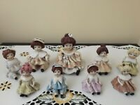 Collectable Zampiva Italian ceramic dolls